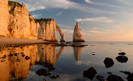 Cliffs-of-Normandy-Reflections