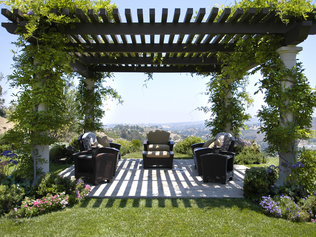 Day 115 something beautiful the pergola part 1 travels for What does pergola mean