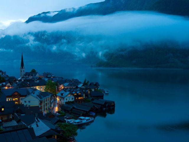 Hallstatt, Austria Photograph by Weimin Chu