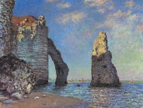 Monet-The-Cliffs-at-Etretat