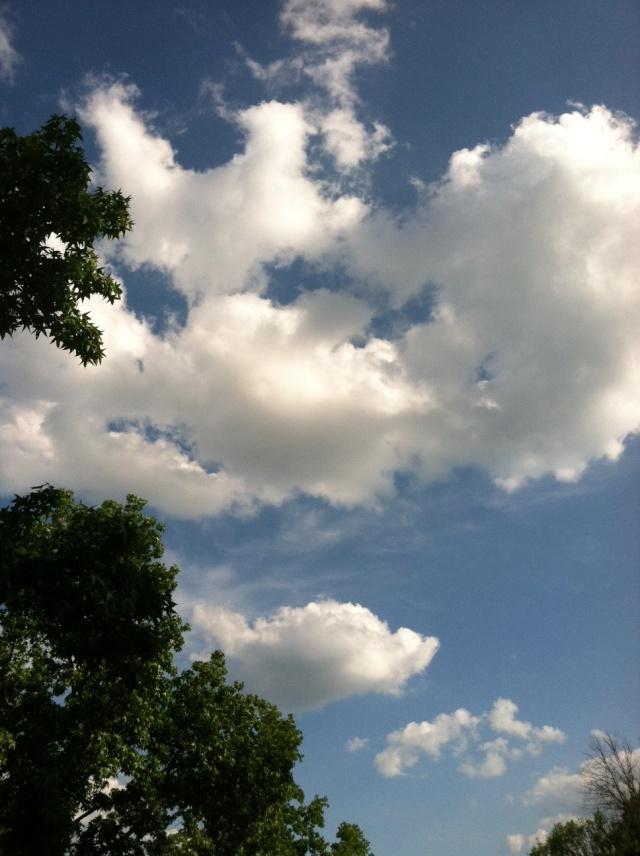 clouds at work-big sky