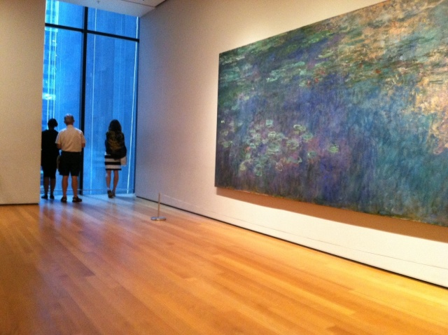 Money's Water Lilies at MOMA