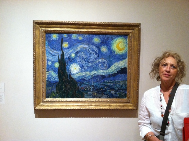 Cynthia and Starry Night