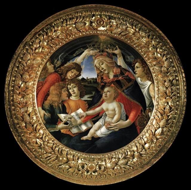 Sandro_Botticelli_-_Madonna_of_the_Magnificat_(Madonna_del_Magnificat)_-_WGA2714