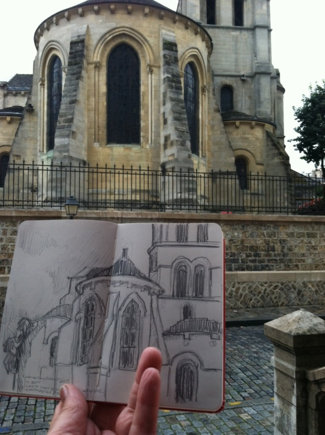 sacre coeur drawing & inspiration