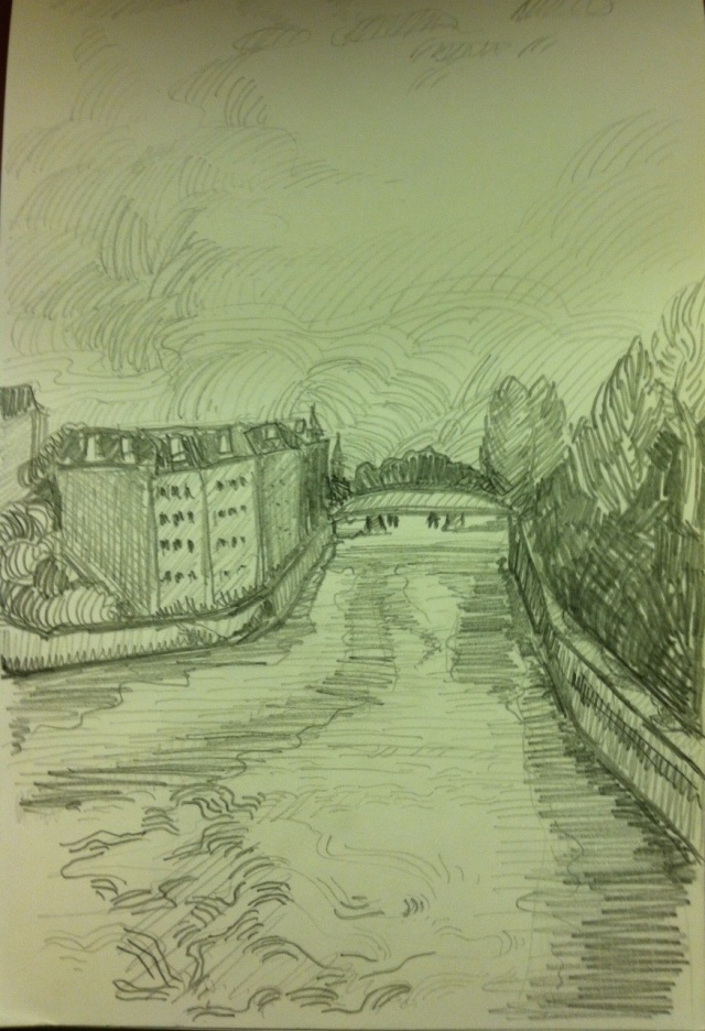 seine drawing