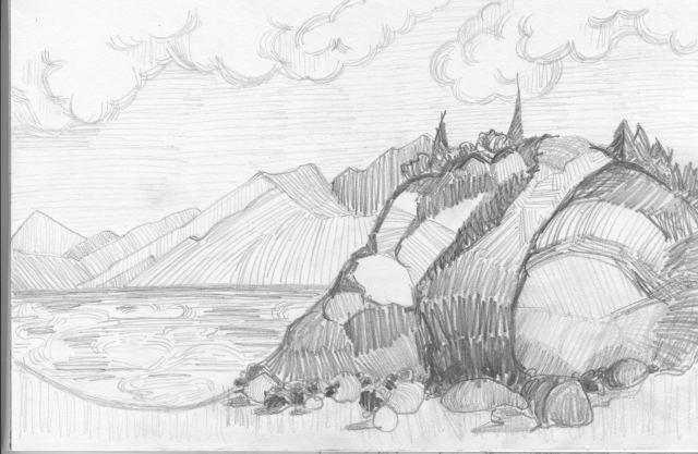 Sketch-Belugia_Pt_Alaska-7-2013