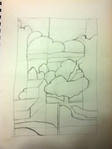grid sketch