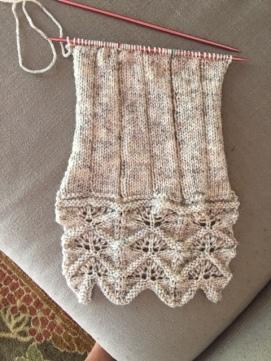 Japanese stitch scarf